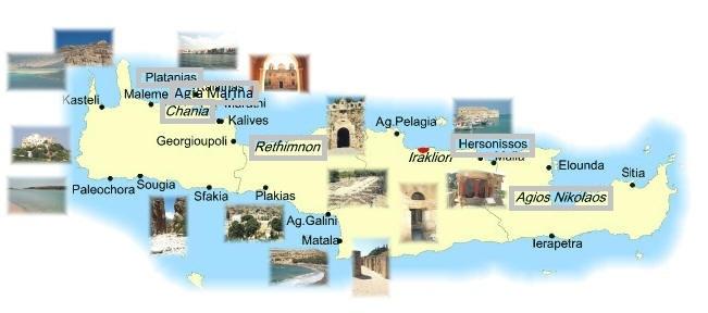 isola di creta - novitá, aperitivi, discoteche, by night, locali ... - Migliore Zona Soggiorno Creta 2