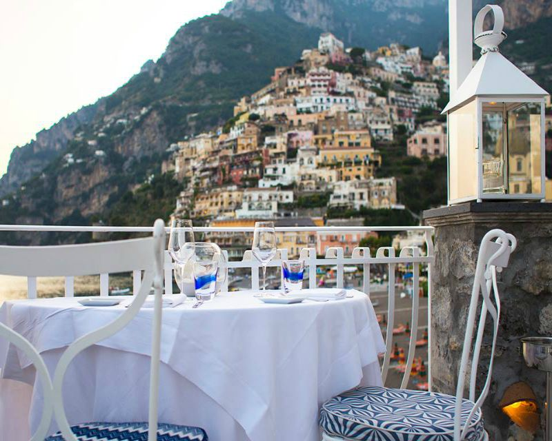 Beautiful Ristorante Le Terrazze Positano Images - Design and Ideas ...
